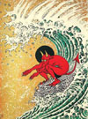 "Surf or Die"" by Don Ed Hardy"